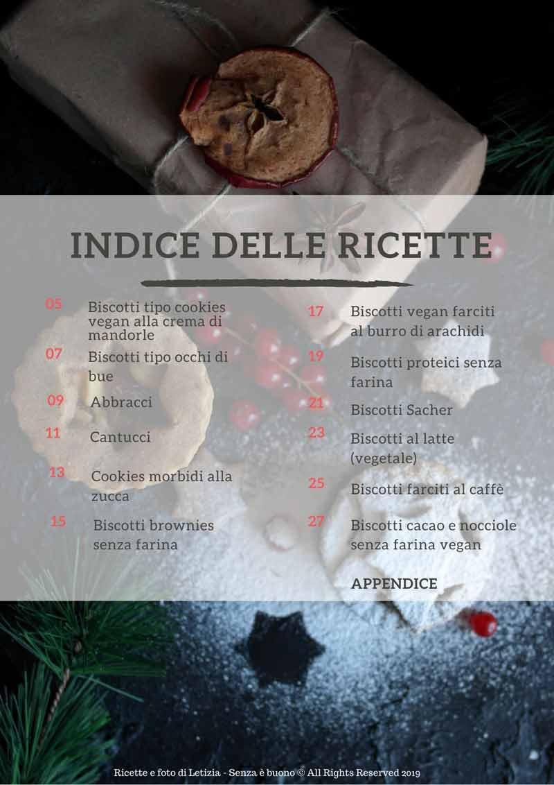 ricette biscotti senza glutine indice e-book
