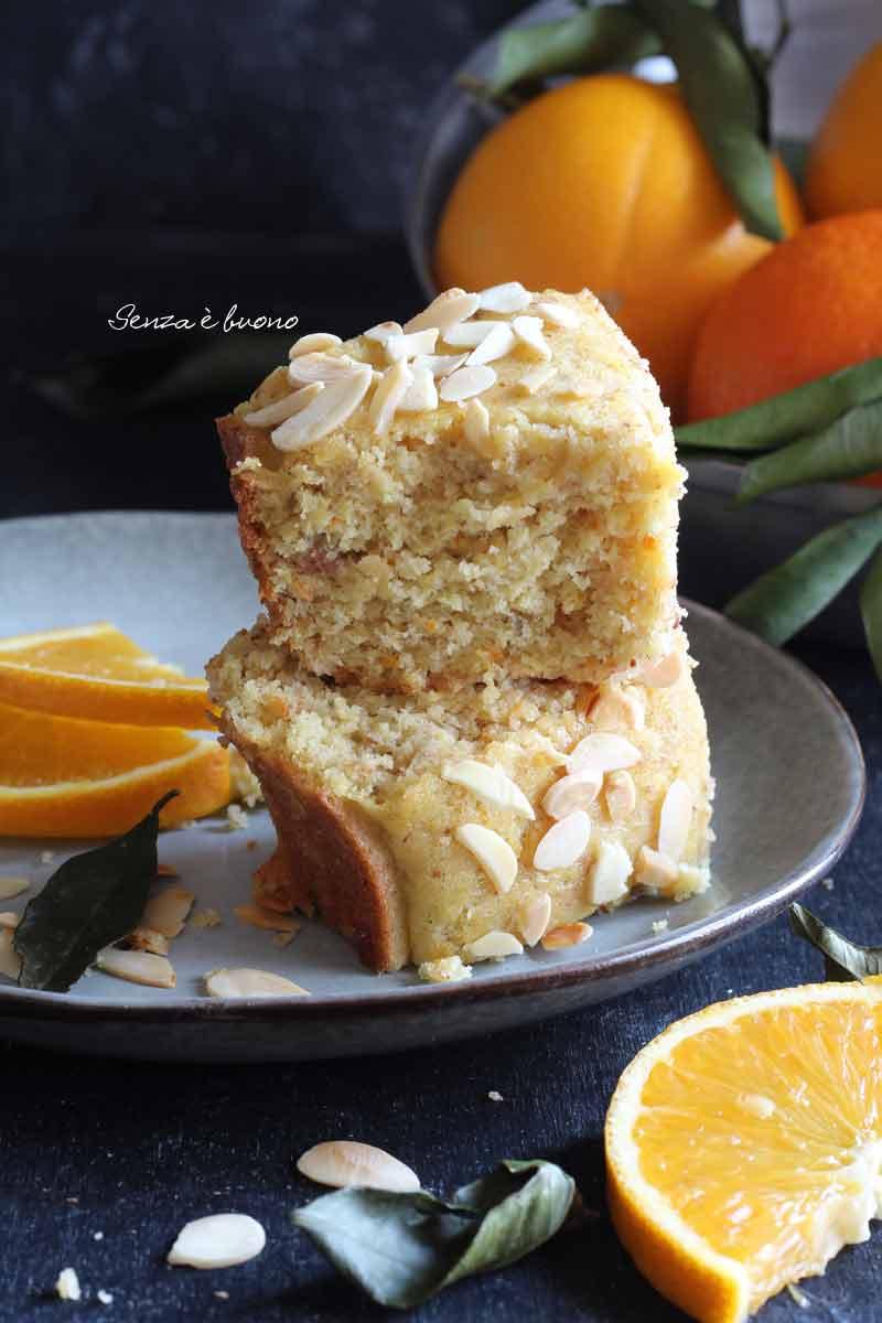 ricetta pan d'arancia senza glutine