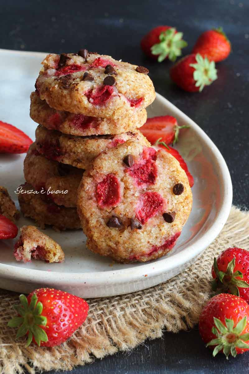 ricetta biscotti fit senza farina vegan