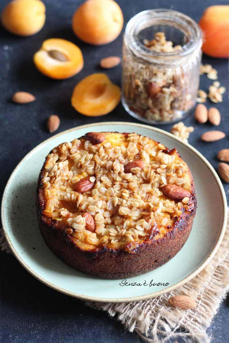torta di albicocche in padella ricetta facile