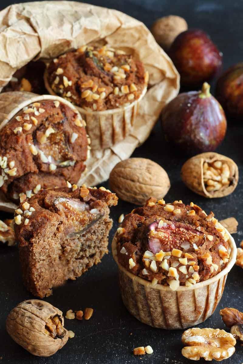 muffin soffici ai fichi vegan