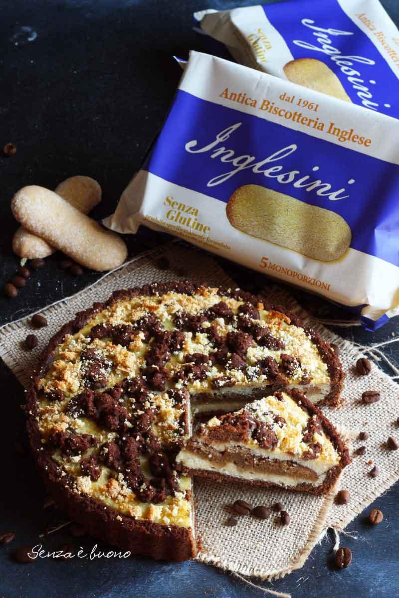 crostata con ricotta vegetale senza glutine