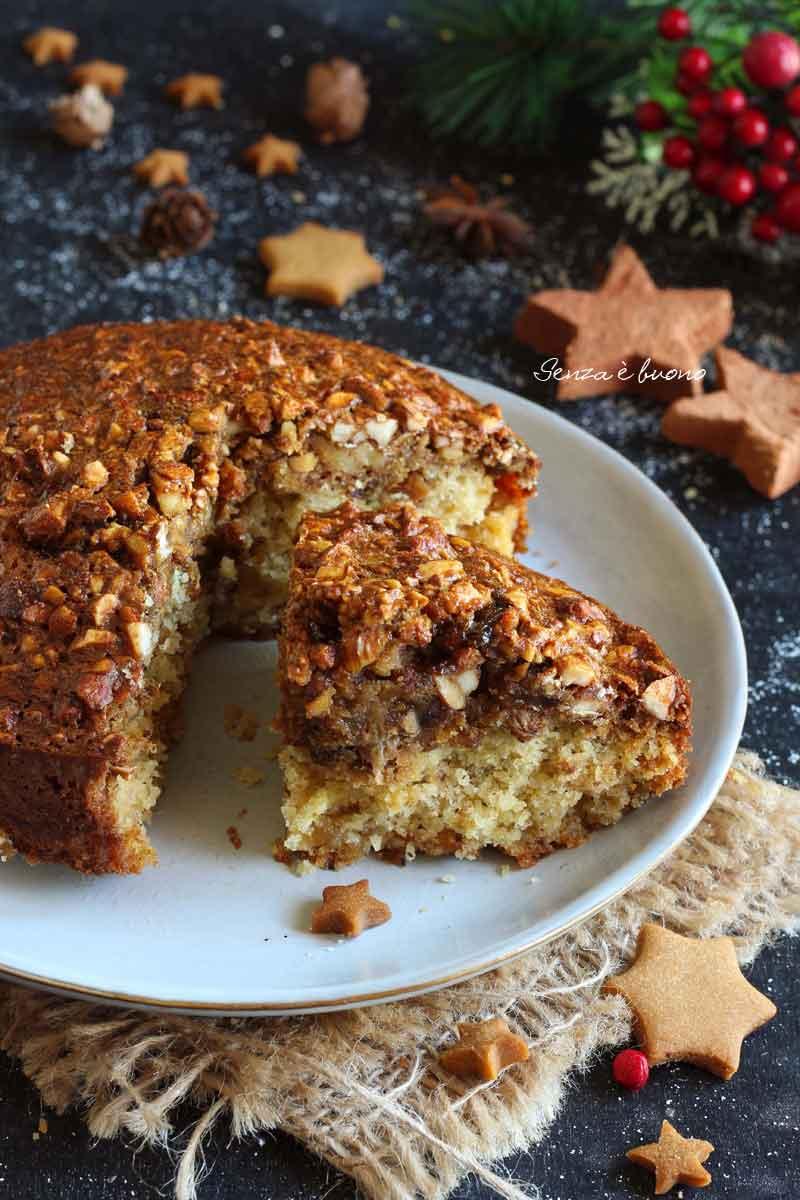 torta di Natale senza glutine e senza burro