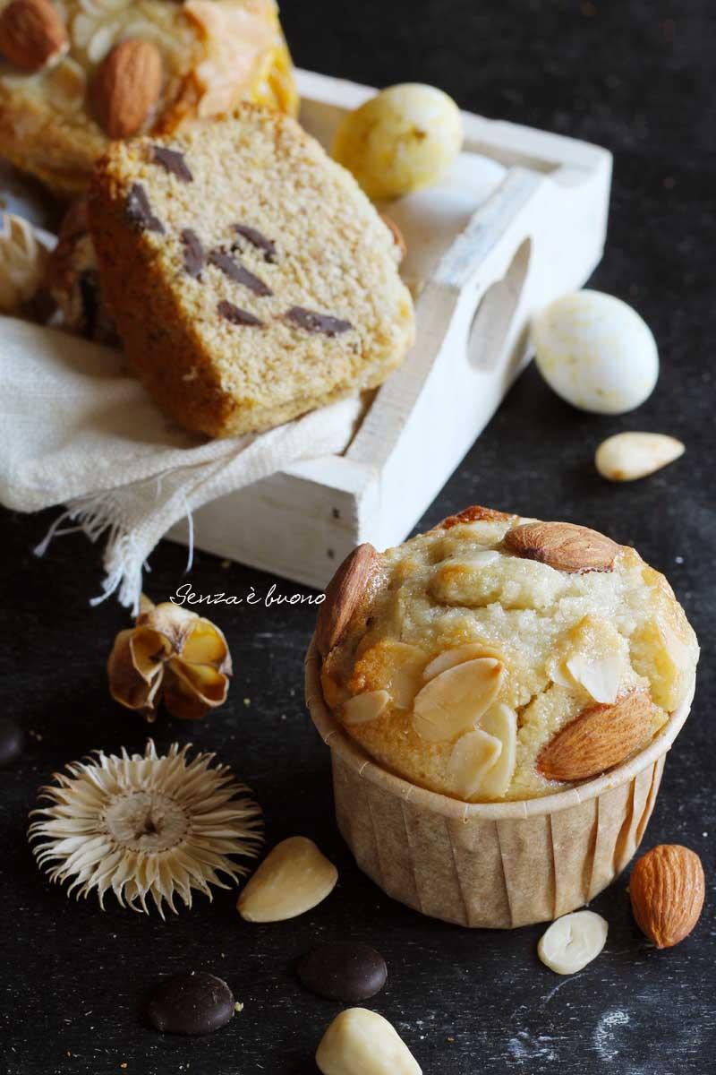 ricetta muffin di albumi senza glutine