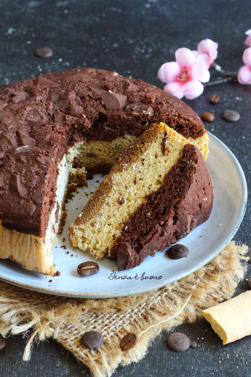 torta vaniglia cioccolato e caffè senza glutine
