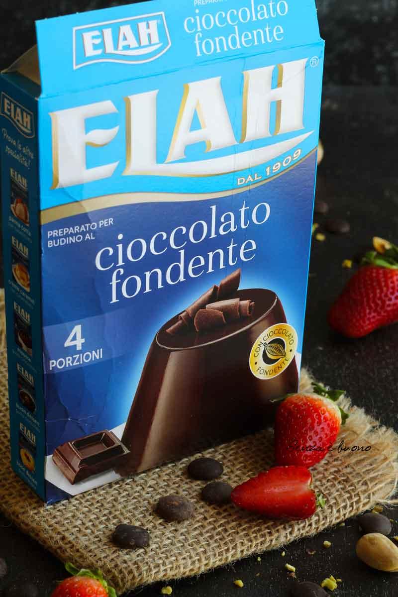 budino Elah al cioccolato senza glutine