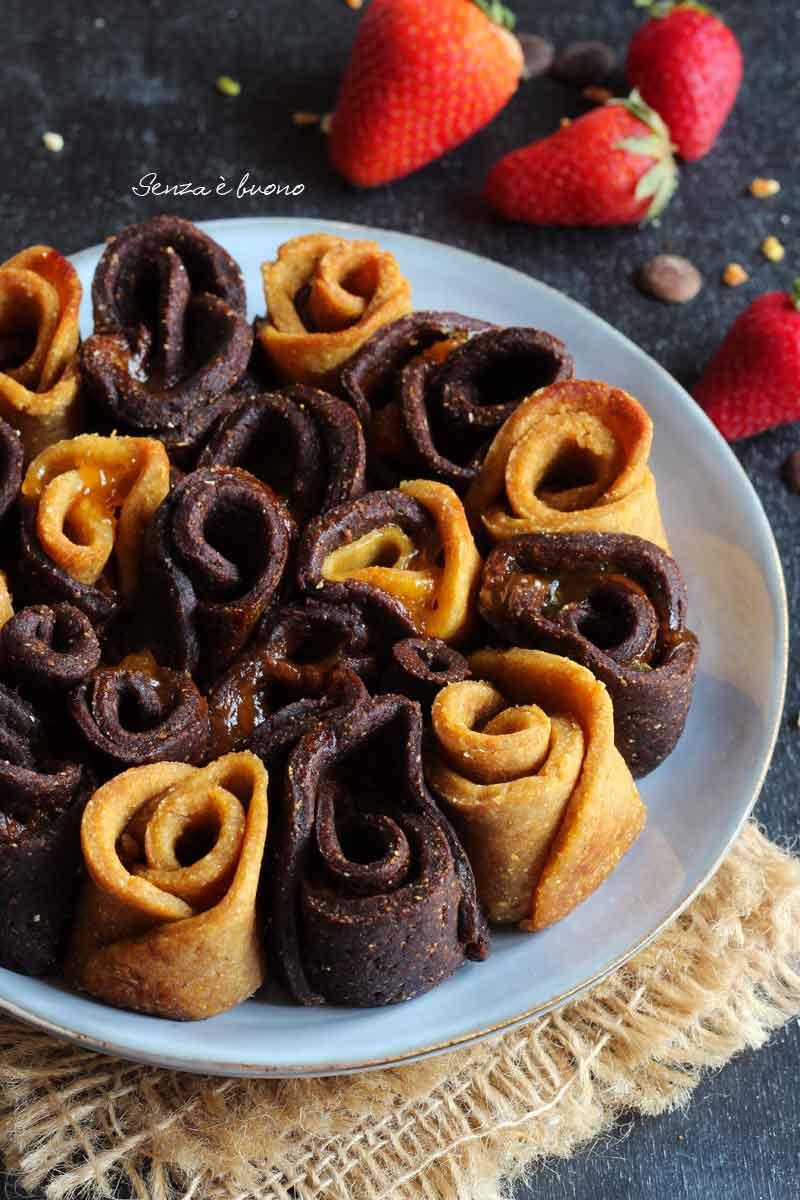 dolce per la festa della mamma: torta di rose senza glutine