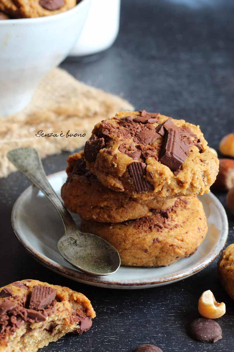 biscotti con farina di ceci senza glutine, ricetta facile