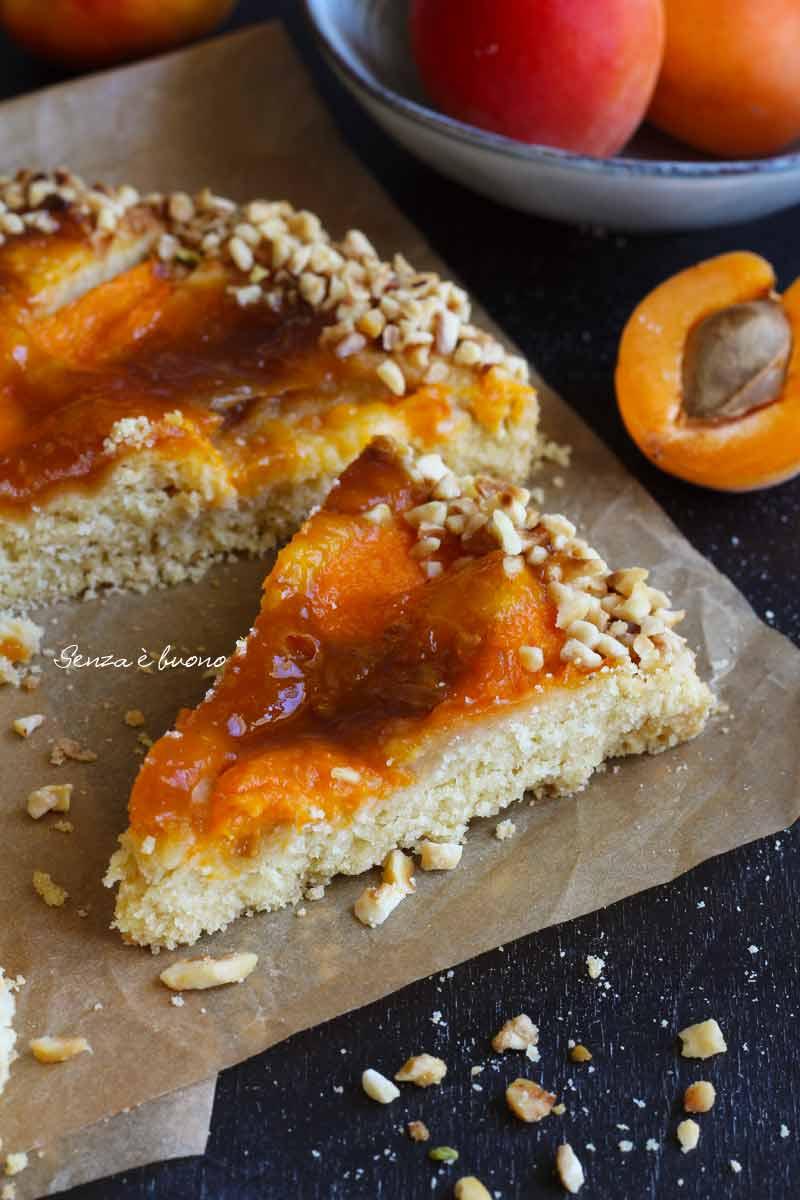 crostata morbida senza glutine
