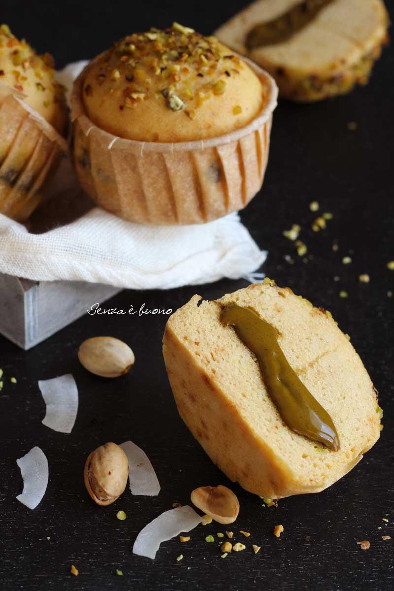 muffin al vapore senza glutine