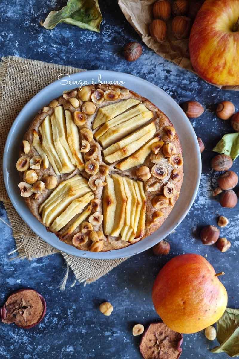 ricetta torta mele e nocciole senza glutine