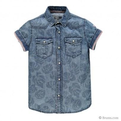 Camicia denim stampata 45,90€