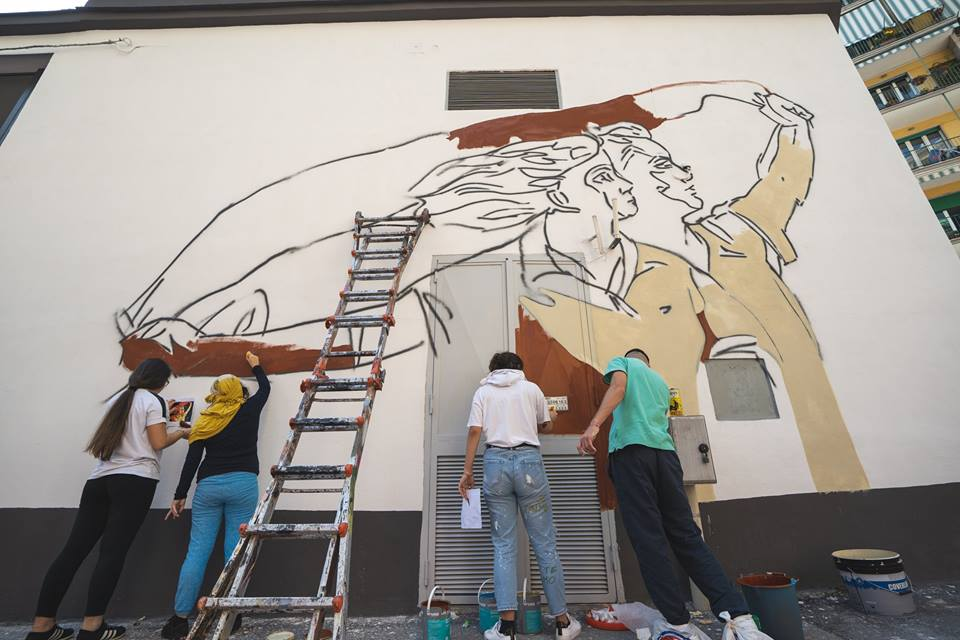 La Citta Dei Ragazzi Inaugurazione Dei Murales Nella V