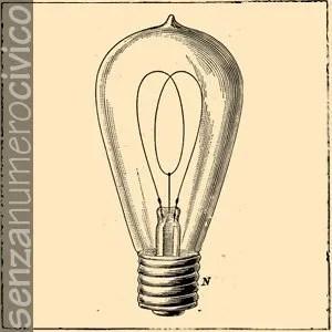 impianti secondari: illustrazione lampadina