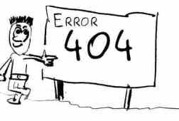 تخصيص صفحة الخطأ 404