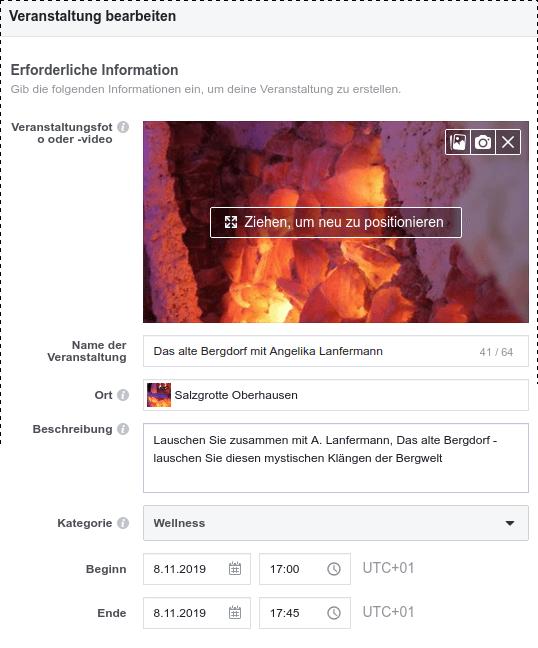 Facebook Event-Editorial
