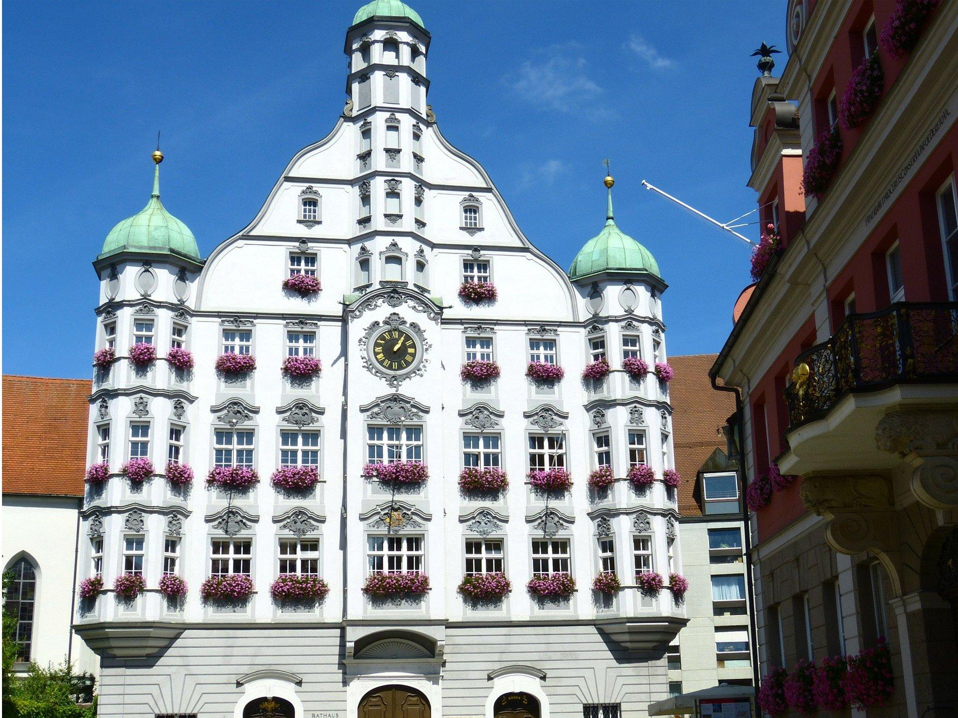 In Memmingen ist die SEO Agentur Jochen Dullenkopf auch tätig, hier ein bekanntes Gebäude aus Memmingen