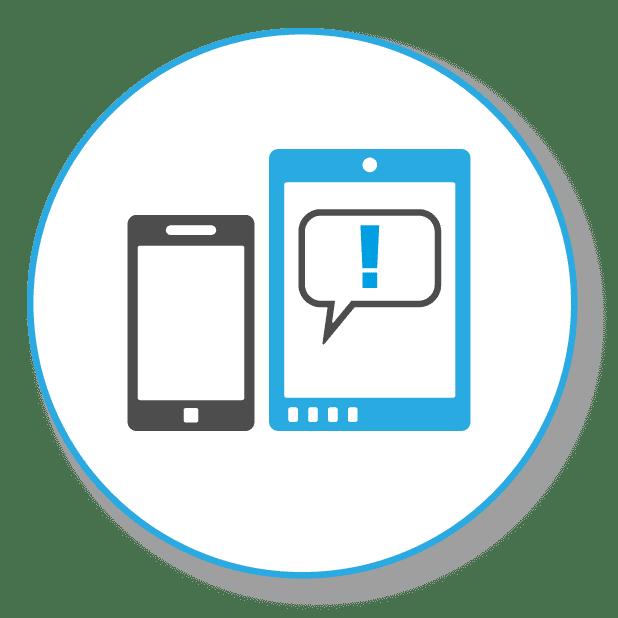 Bild zeigt Tablet und Smartphone als symbol für aktuelles Wissenin Suchmaschinenoptimierung