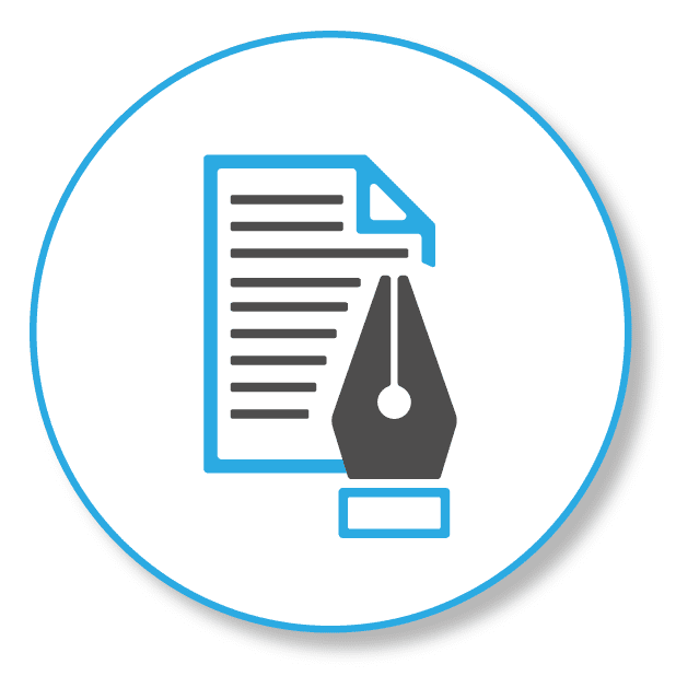 letter and a pencil, stands for individual offer in SEO projects