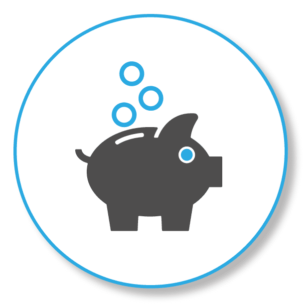 SEO for small budget, Picture shows a money box as a pig