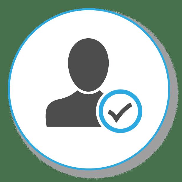 Bild zeigt eine Personensiluette, als Symbol für die richtige Zielgruppe finden im Onlinemarketing