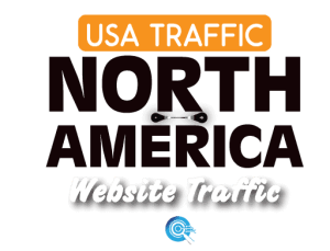 North America web traffic