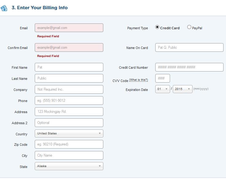 billing hostgator formulir