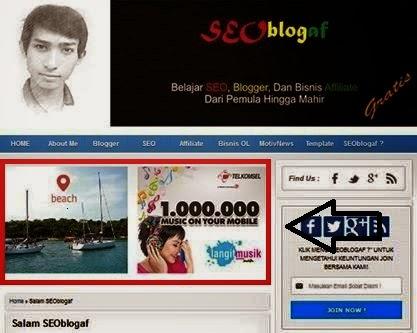 Cara Membuat Iklan PPC Blog Sejajar Tabel