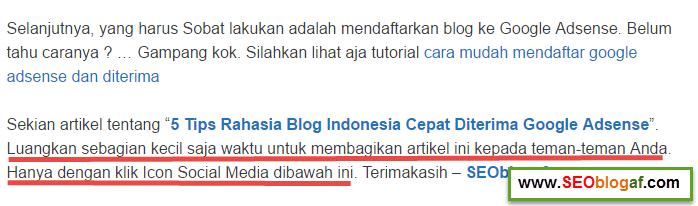 viral konten untuk promosi blog