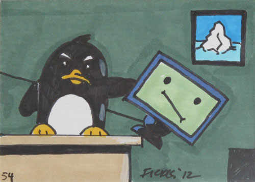 Penguin Update Drawing.