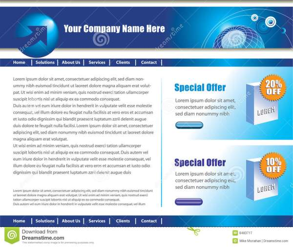 will design a creative and stunning webpage for $10 ...
