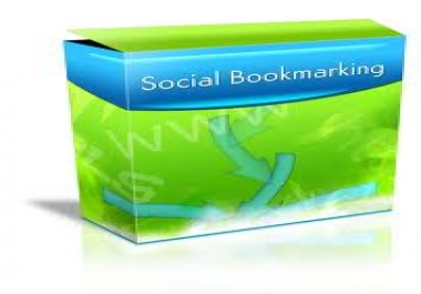 submit your website MANUALLY to the 85 top social bookmarking sites