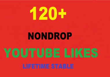 give you 120+ Youtube Likes VERY FAST now only