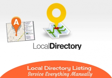 I will do Manually local business listings or local citations service for 15 local directories
