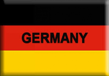 send  Real Traffic from GERMAN for 1 month