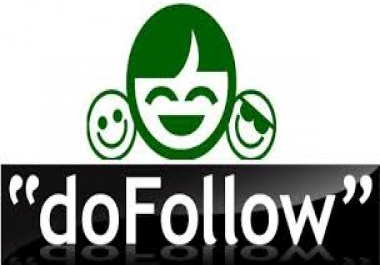 Get 100 do follow back links service