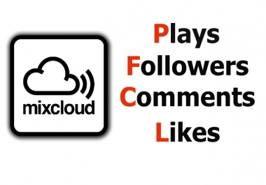[CHEAP] add 5000 REAL plays +110 Favorites +55 Repost to your MixCloud