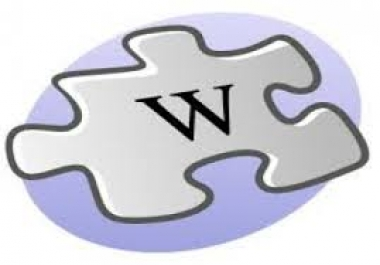 create over 1200 Wiki backlinks from unique high pr sites including edu and use lindexed for indexin