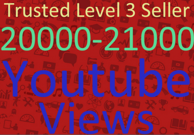 Add 20000-21000 Adsence Safe High Retention Youtube Vie'ws Within 36-48 Hours Instant Start