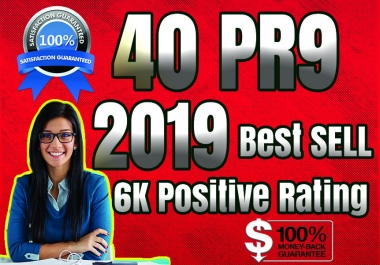 [Best Sell-2018]- I will manually do 40 PR9 Safe SEO High Pr Backlinks 2019 Best Results