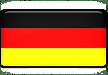 2000 Unique Germany Website traffic visitors