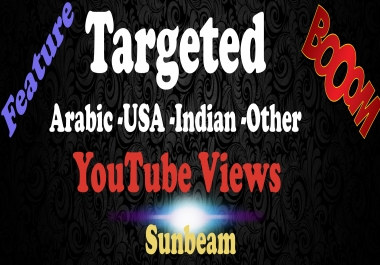 1000 targetd Indian or Arabic youtube views