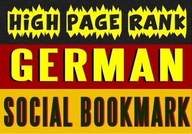 Manually submit TOP 5 German Social Bookmarking Sites