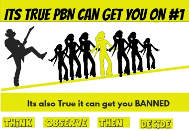 Get 12 PBN HomePage DoFollow Backlinks