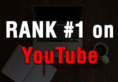 HOT SALE - RANK YOUR VIDEO TO PAGE 1 YOUTUBE - NOBODY RANKS BETTER