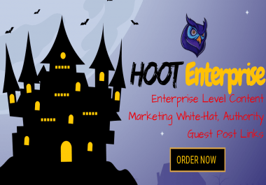 HOOT Enterprise - White Hat WEB 2.0 Blogs Creation, WEB 2.0 Backlinks and Social Signals