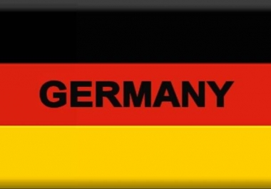 Drive 11,111 Germany Low Bounce Niche Targeted Traffic