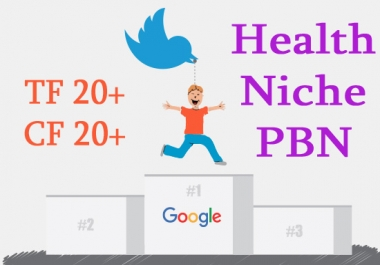 Give 3 Permanent Pbn Posts On Health Site On High Matrics