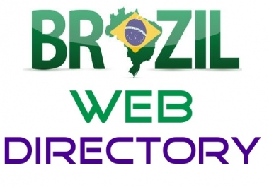 Do 21 High Page Rank Brazil Directory Submission, Brazilian