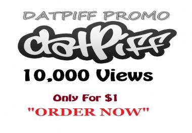 datpiff 10,000 views